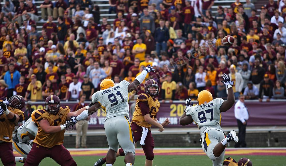 CMU football plays Toledo, September 21, 2013.