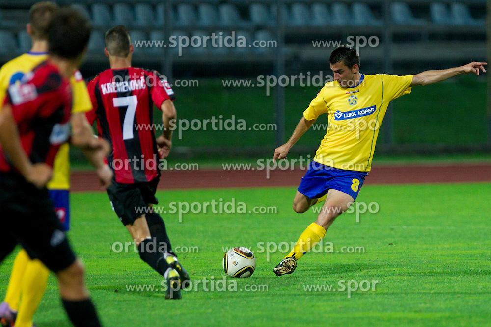 Nebojsa Kovacevic of Koper at football match of 1st Round of PrvaLiga between NK Luka Koper and NK Primorje on July 16, 2010 at Sportni park Nova Gorica, Slovenia. (Photo by Vid Ponikvar / Sportida)