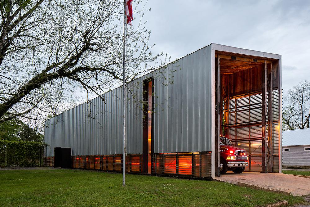 Newbern Fire Station | Rural Studio | Newbern, Alabama