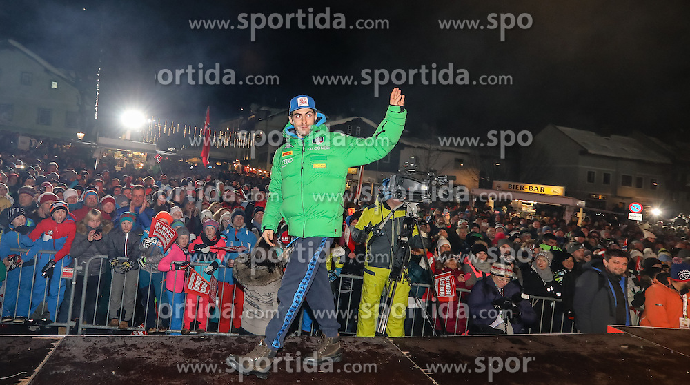 23.01.2017, Planai, Schladming, AUT, FIS Weltcup Ski Alpin, Slalom, Herren, Startnummernauslosung, im Bild Stefano Gross (ITA) // Stefano Gross of Italy during the bibdraw prior to the Schladming FIS Ski Alpine World Cup 2017 at the Planai in Schladming, Austria on 2017/01/23. EXPA Pictures © 2017, PhotoCredit: EXPA/ Martin Huber