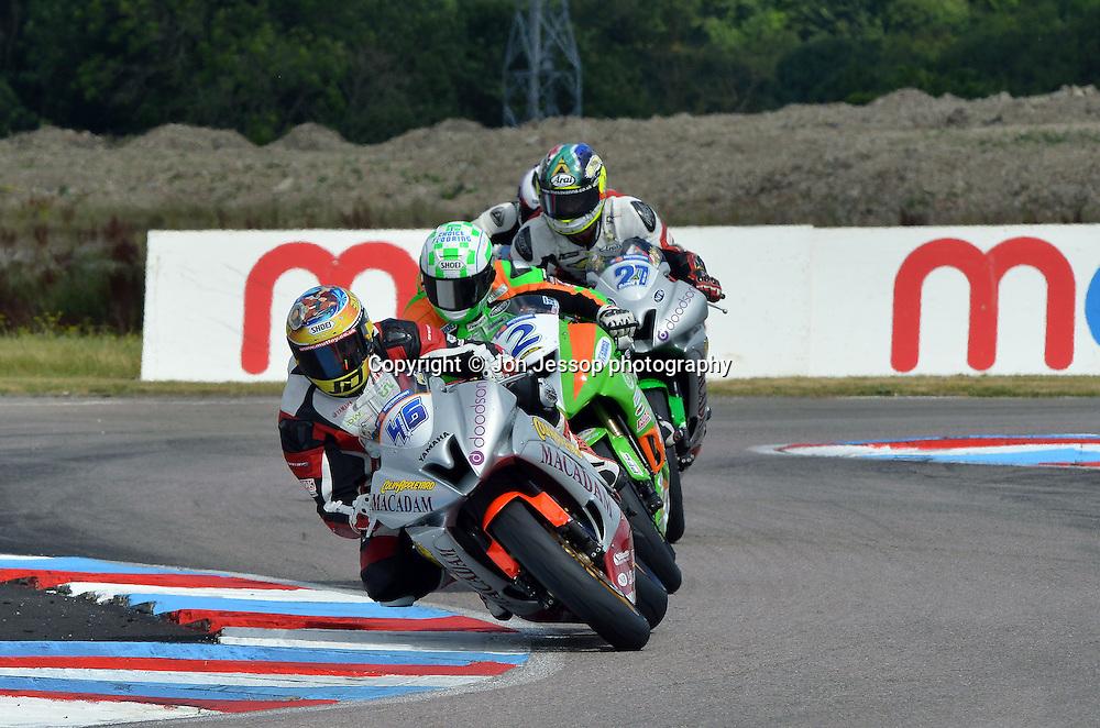 #46 Jake Dixon Team Colin Appleyard/Macadam Yamaha British Supersport