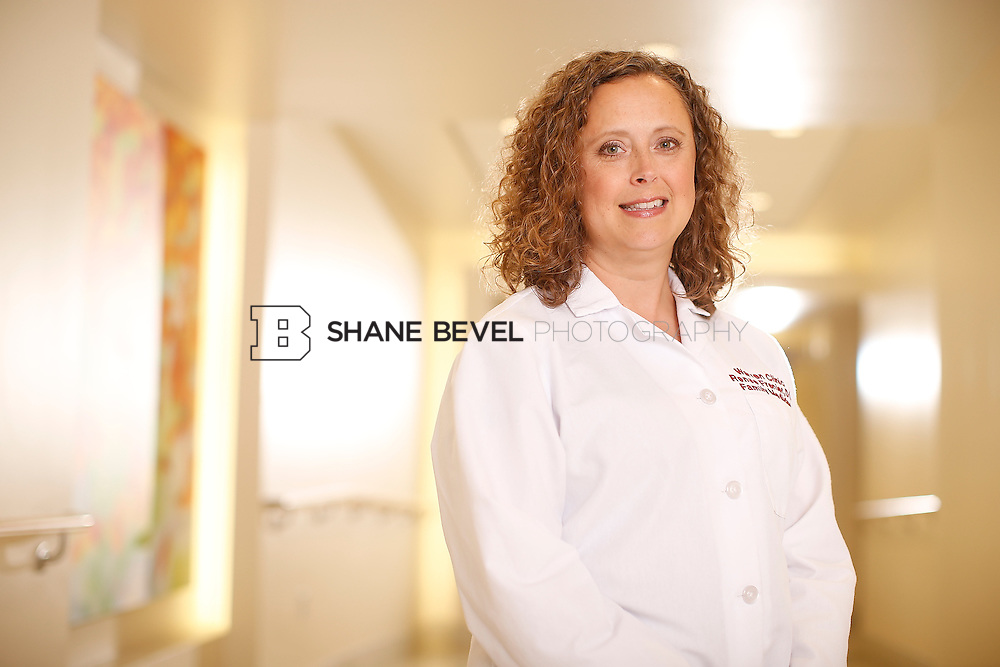 5/28/15 4:12:02 PM -- Dr. Renee Frenier of Saint Francis Health System poses for a portrait for the 2015 Advertising Campaign. <br /> <br /> Photo by Shane Bevel