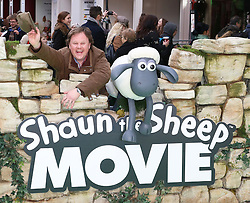 © Licensed to London News Pictures. 25/01/2015, UK. Justin Fletcher, Shaun the Sheep Movie - European Film Premiere, Leicester Square, London UK, 25 January 2015. Photo credit : Richard Goldschmidt/Piqtured/LNP