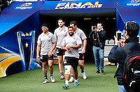 Steffon ARMITAGE - 01.05.2015 - Captains' Run de Toulon avant la finale - European Rugby Champions Cup -Twickenham -Londres<br /> Photo : David Winter / Icon Sport