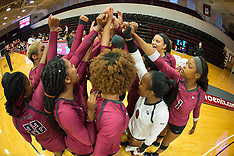 2017 NC Central Volleyball at Elon