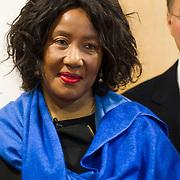 NLD/Amsterdam//20140319 - Presentatie House of Mandela wijnen, Makaziwe Mandela