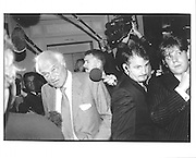 Sir James Goldsmith, Referendum party conference, Brighton 1996© Copyright Photograph by Dafydd Jones 66 Stockwell Park Rd. London SW9 0DA Tel 020 7733 0108 www.dafjones.com