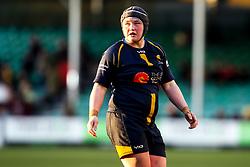 Laura Keates of Worcester Warriors Women - Mandatory by-line: Robbie Stephenson/JMP - 01/12/2019 - RUGBY - Sixways Stadium - Worcester, England - Worcester Warriors Women v Bristol Bears Women - Tyrrells Premier 15s