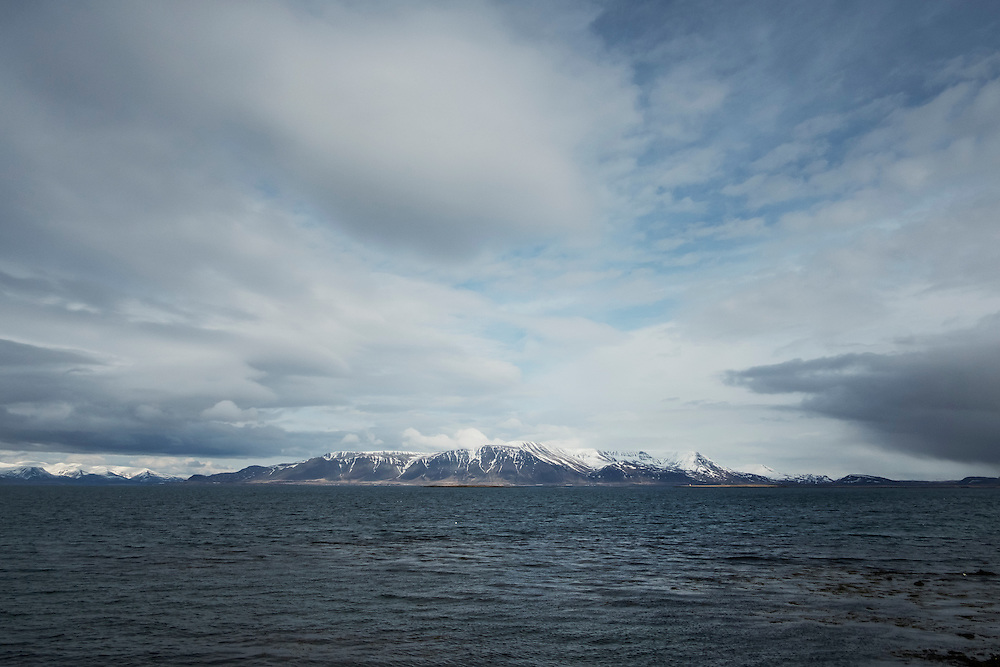 REYKJAVIK 20160403<br /> Seaside outside of Reykjavik.<br /> Foto: Vilhelm Stokstad / Kontinent