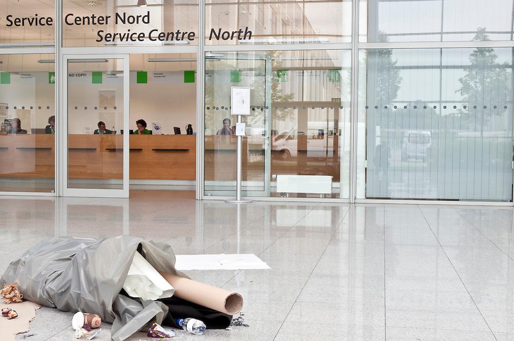 Deutschland,Nordrhein-Westfalen,Photokina ein Tag vor Eröffnung der weltgrössten Fotomesse |  Germany, Cologne, photokina one day before the opening of the photo fair  | ...