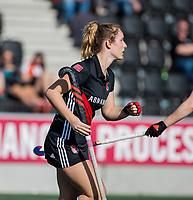 AMSTELVEEN -  Indy van Oosterhout (Adam)    tijdens   de oefenwedstrijd tussen Amsterdam en Laren dames   COPYRIGHT KOEN SUYK
