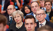 Conservative Party Conference <br /> Day 1 <br /> 2nd October 2016 <br /> At the ICC, Birmingham, Great Britain <br /> <br /> Theresa May <br /> Prime Minister <br /> <br /> Photograph by Elliott Franks <br /> Image licensed to Elliott Franks Photography Services