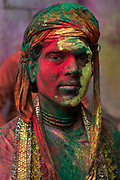 Lathmar Holi is held firstly in the town of Barsana, near Vrindavarn in Uttar Pradesh. The following day reprisals are made in the neighbouring village of Nandgaon, where India's spring festival is at is most boisterous.
