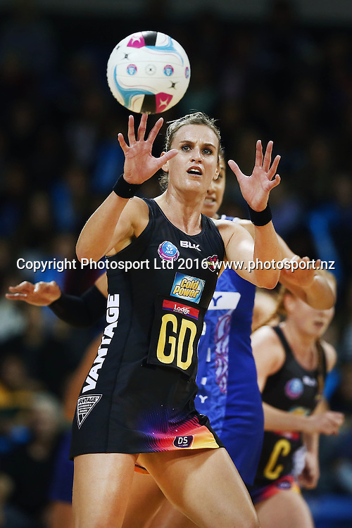 Leana de Bruin of the Magic in action. 2016 ANZ Championship, Northern Mystics v Waikato BOP Magic, The Trusts Arena, Auckland, New Zealand. 6 June 2016. Photo: Anthony Au-Yeung / www.photosport.nz