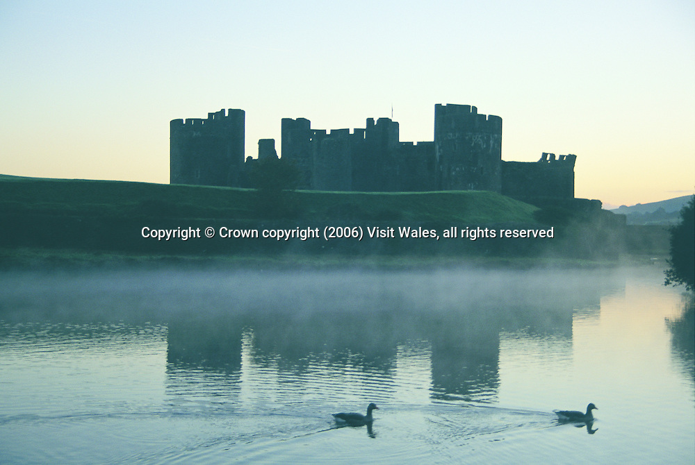 Caerphilly<br /> Castles<br /> Historic Sites