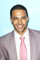@ London News Pictures. Marvin Humes; JLS at the  Arqiva Commercial Radio Awards, The Westminster Bridge Park Plaza Hotel, London UK, 03 July 2013. Photo by Richard Goldschmidt/LNP