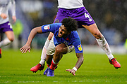 Ellis Harrison of Portsmouth during the EFL Sky Bet League 1 match between Portsmouth and Shrewsbury Town at Fratton Park, Portsmouth, England on 15 February 2020.