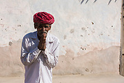 Man from Rajasthan.