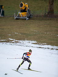 20.12.2014, Nordische Arena, Ramsau, AUT, FIS Nordische Kombination Weltcup, Staffel Langlauf, im Bild Maxime Laheurte (FRA) // during Cross Country of FIS Nordic Combined World Cup, at the Nordic Arena in Ramsau, Austria on 2014/12/20. EXPA Pictures © 2014, EXPA/ JFK