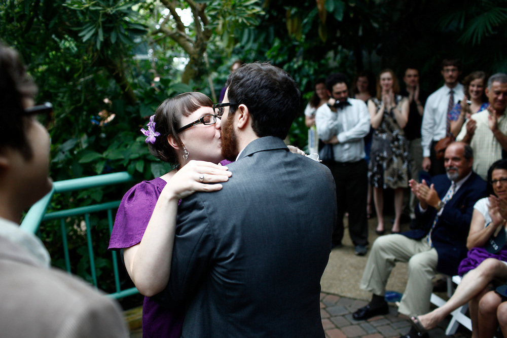 The wedding of John DeMartino and Lenae Bell at the Museum of Life and Science in Durham, NC, Saturday, July 31, 2010. .