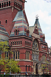 Harvard University is a private Ivy League research university in Cambridge, Massachusetts, established in 1636, whose history, influence, and wealth have made it one of the world's most prestigious universities. Pictured: Memorial Hall (completed 1878) stands as one of Harvard's most iconic buildings and is even a National Historic Landmark.