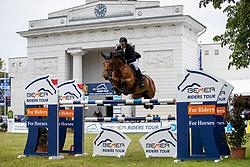 KNIPPLING Andreas (GER), Captain Carlos<br /> Redefin - Pferdefestival 2019<br /> Großer Preis der Deutschen Kreditbank AG<br /> BEMER Riders Tour - Wertungsprüfung<br /> Große Tour – Finale: Int. Weltranglisten-Springprüfung (1,60m) mit zwei Umläufen<br /> 26. Mai 201<br /> © www.sportfotos-lafrentz.de/Stefan Lafrentz