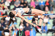 Mirela Demireva (BUL) places third in the women's high jump at 6-4¼ (1.94m) during the 54th  Bislett Games in an IAAF Diamond League meet in Oslo, Norway, Thursday, June 13, 2019. (Jiro Mochizuki/Image of Sport)