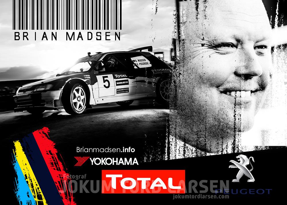 Brian Madsen Autograph Card 2016