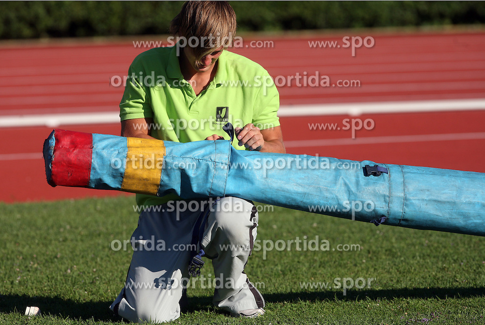 Andrej Poljanec at Athletic National Championship of Slovenia, on July 19, 2008, in Stadium Poljane, Maribor, Slovenia. (Photo by Vid Ponikvar / Sportal Images).