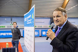 Marko Umberger at Istenic doubles Tournament and Slovenian Tennis personality of the year 2015 annual awards presented by Slovene Tennis Association TZS, on December 12, 2015 in Millenium Centre, BTC, Ljubljana, Slovenia. Photo by Vid Ponikvar / Sportida
