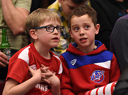 Bristol Flyers supporters - Photo mandatory by-line: Paul Knight/JMP - Mobile: 07966 386802 - 30/01/2016 - BASKETBALL - SGS Wise Arena - Bristol, England - Bristol Flyers v Leeds Force - British Basketball League