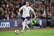 Melissa Lawley (15) of England during the FIFA Women's World Cup UEFA Qualifier match between England Ladies and Wales Women at the St Mary's Stadium, Southampton, England on 6 April 2018. Picture by Graham Hunt.
