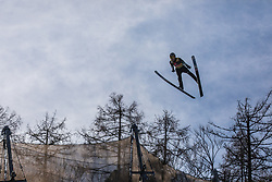 Ryoyu Kobayashi (JPN) during the 1st round of the Ski Flying Hill Individual Competition at Day 2 of FIS Ski Jumping World Cup Final 2019, on March 22, 2019 in Planica, Slovenia. Photo Peter Podobnik / Sportida