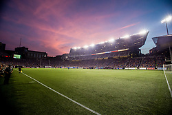 August 15, 2017 - Cincinnati, OH, USA - Cincinnati, OH - Tuesday August 15, 2017:   Nippert Stadium during the FC Cincinnati vs New York Red Bulls during a 2017 U.S. Open Cup game. (Credit Image: © Garig Bartram/ISIPhotos via ZUMA Wire)