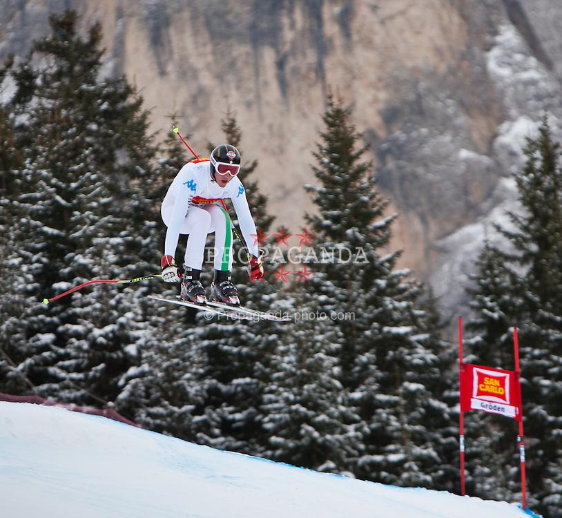 15.12.2011, Saslong, Groeden, ITA, FIS Weltcup Ski Alpin, Herren, 2. Training Abfahrt, im Bild Siegmar Klotz (ITA) // Siegmar Klotz of Italy during 2th practice session men's downhill at FIS Ski Alpine Worldcup at Saslong in Groeden, Italy on 2011/12/15. EXPA Pictures © 2011, PhotoCredit: EXPA/ Johann Groder