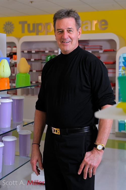 Portrait shoot with Tupperware CEO Rick Goings at Tupperware Headquarters in Orlando, Florida on Feb. 17, 2010.©2010 Scott A. Miller