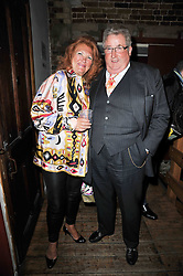 SIR WILLIAM & LADY McALPINE at the gala night party of Losing It staring Ruby Wax held at he Menier Chocolate Factory, 51-53 Southwark Street, London SE1 on 23rd February 2011.