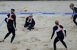 16-08-2014 NED: NK Beachvolleybal 2014, Scheveningen<br /> Sanne Keizer