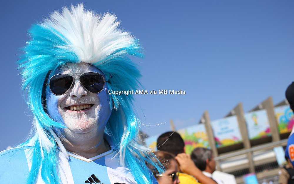 A fan of Argentina