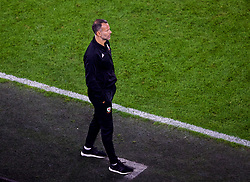 CARDIFF, WALES - Thursday, September 6, 2018: Wales' manager Ryan Giggs during the UEFA Nations League Group Stage League B Group 4 match between Wales and Republic of Ireland at the Cardiff City Stadium. (Pic by Laura Malkin/Propaganda)