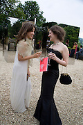 LAURA FRASER and SKYE TRAYLOR-GRAHAM, The Artists' Playground. Reconstruction 3: Contemporary Art at Sudeley Castle, 2008 In partnership with Phillips de Pury & Company and supported by Chanel. 31 May 2008. *** Local Caption *** -DO NOT ARCHIVE-© Copyright Photograph by Dafydd Jones. 248 Clapham Rd. London SW9 0PZ. Tel 0207 820 0771. www.dafjones.com.