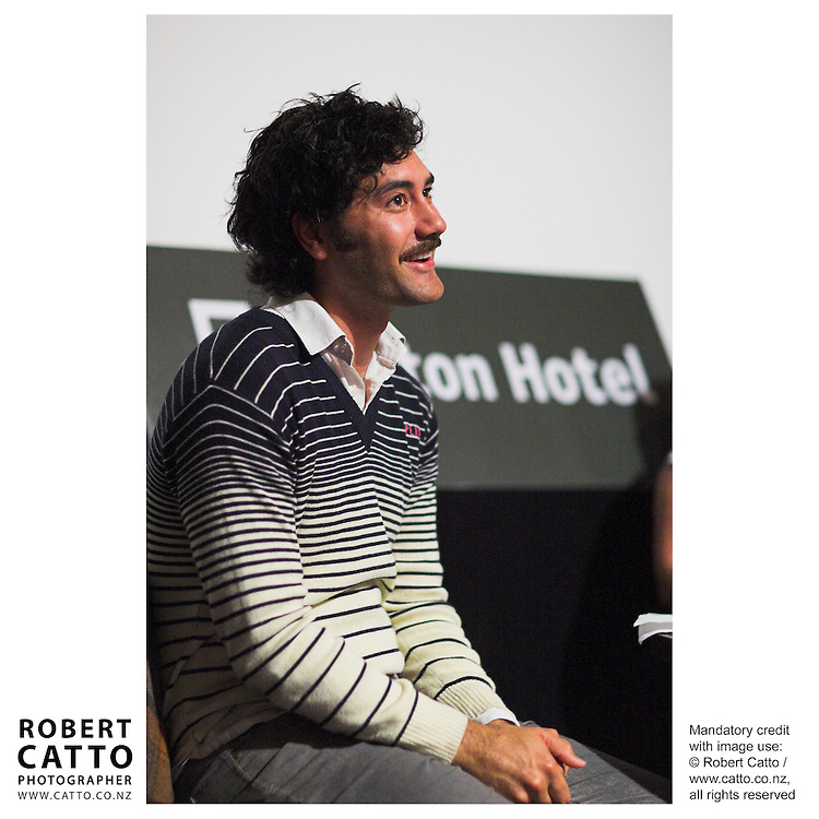 Filmmaker Taika Waititi speaks at Cameo @ Paramount, a lecture series organised by Actor's Equity in Wellington New Zealand.<br />