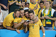 Tomi Juric of Australia after the AFC Asian Cup match at Stadium Australia, Sydney<br /> Picture by Steven Gibson/Focus Images Ltd +61 413 768835<br /> 31/01/2015