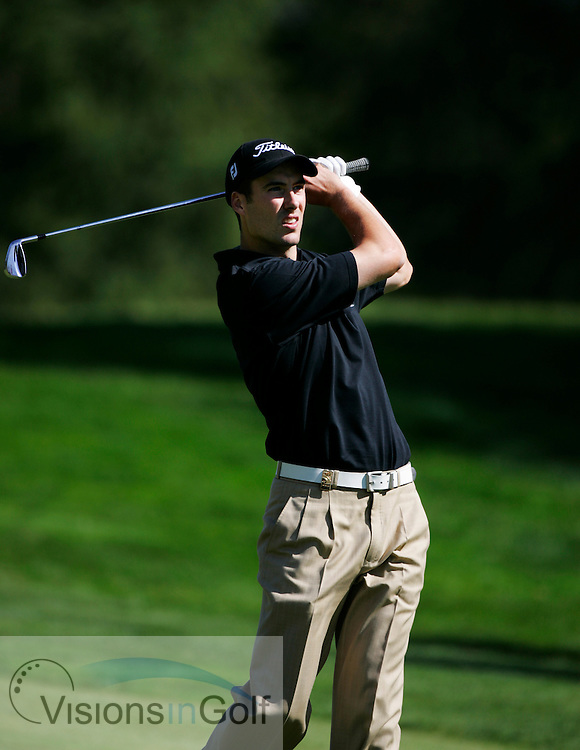 Ross Fisher during the second round  at the Omega European Masters 2006, Crans Montana, Switzerland, 8th September 2006<br /> Picture Credit: Mark Newcombe / visionsingolf.com