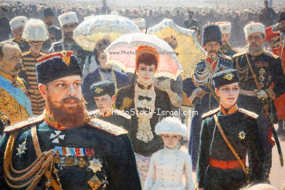 Painting on display at the State Tretyakov Gallery (GTG) an art gallery in Moscow, Russia, the foremost depository of Russian fine art in the world.