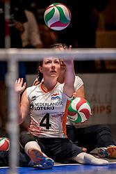 16-07-2018 NED: World Championship sitting volleyball women, Arnhem<br /> Netherlands - Rwanda 3-0 / Jamie Bos #4 of Netherlands