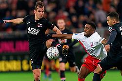 23-11-2019 NED: FC Utrecht - AZ Alkmaar, Utrecht<br /> Round 14 / Stijn Wuytens #30 of AZ Alkmaar, Gyrano Kerk #7 of FC Utrecht