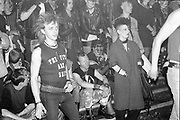 The Fits Gig, UK. 1980s.