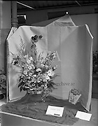 Fry Cadbury Ltd Special - Flowers at RDS Horse Show<br /> 07/08/1958