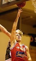 20011024: Mads Myrvold , Centrum Tigers. Basket Bærums Verk Defenders - Centrum Tigers. (Foto: Andreas Fadum, Digitalsport)